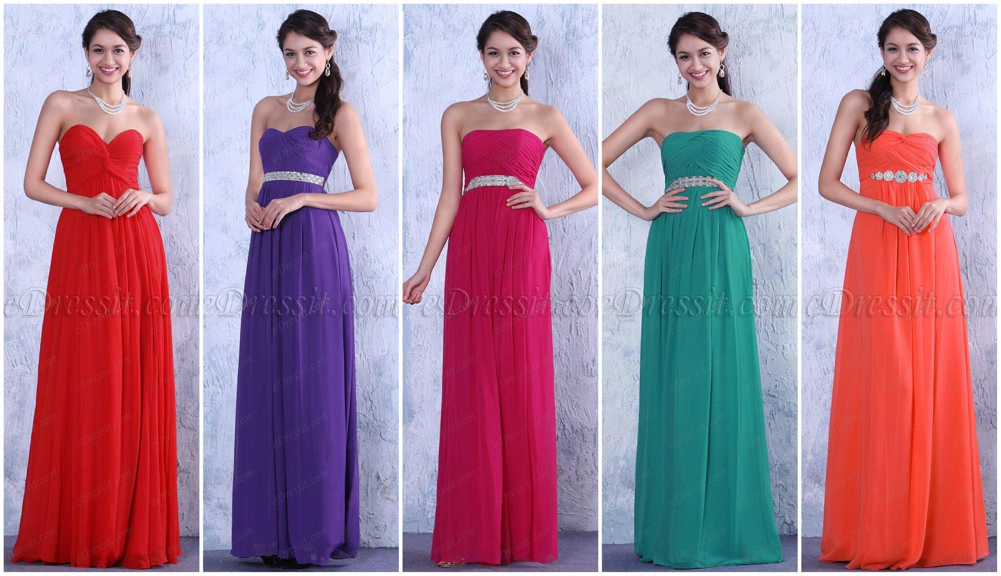 Belles robes demoiselle d honneur la collection pour votre intimes edressit r ve d 39 enfance - Robe de demoiselle d honneur pour un mariage ...