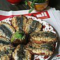 Sardines chermoula à la marocaine