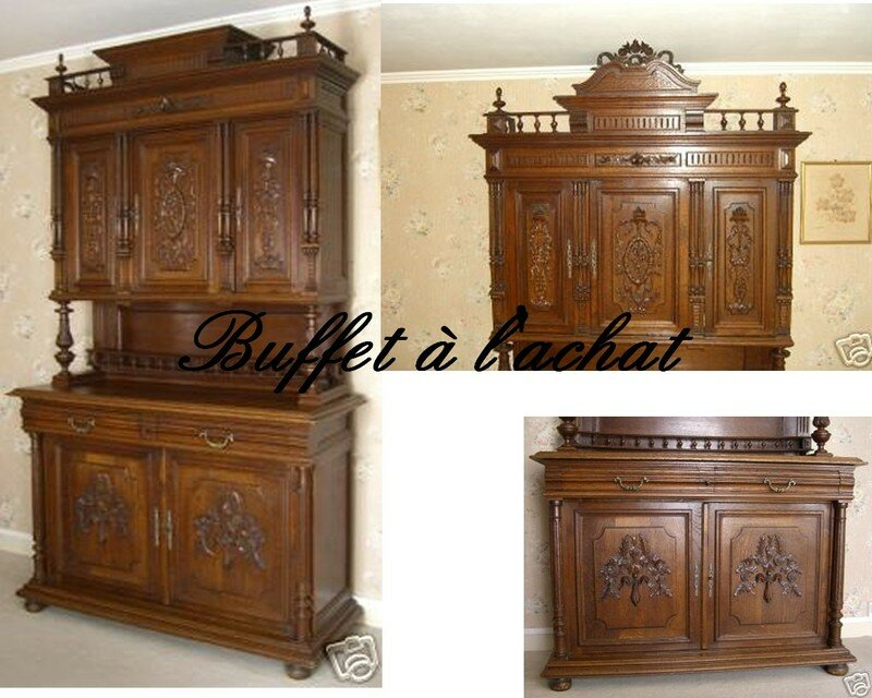 buffet henri ii suite perle rose