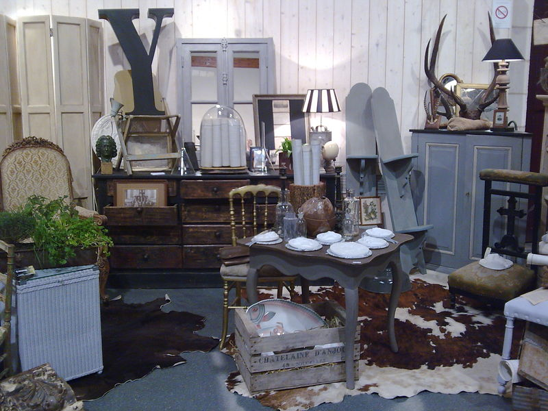 Interieurs deco brocante id e inspirante for Interieur deco brocante