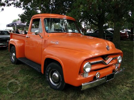 FORD F-100 Custom Cab 1955 (3)