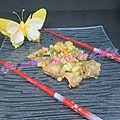 Sauté de poulet sauce soja