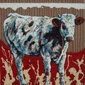 Holstein 764 80X65 cm - Technique mixte Romuald DELAIRE