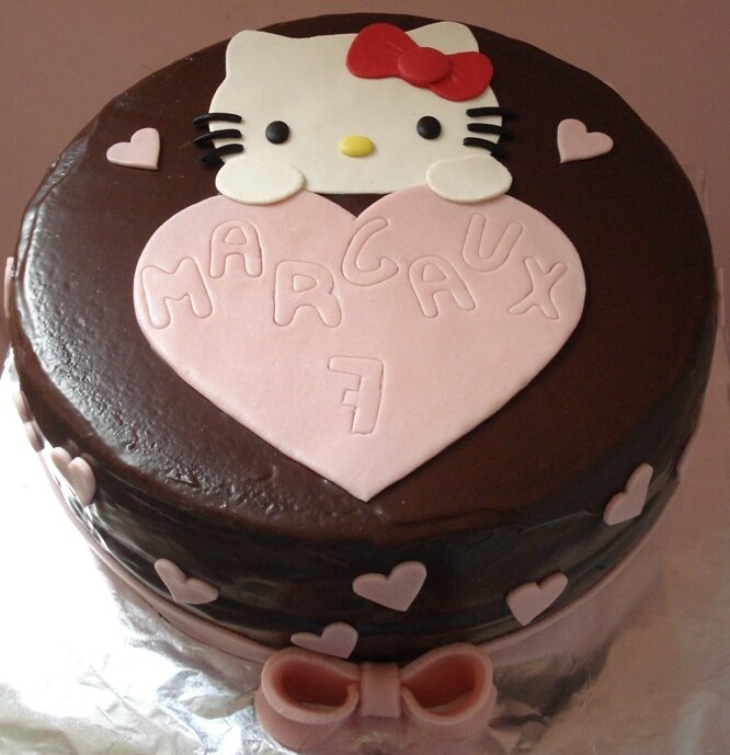 Gâteau Hello Kitty 5