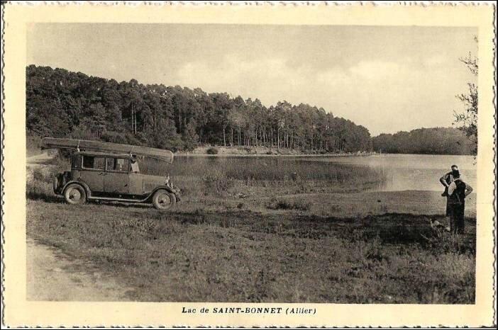 Lac de St Bonnet Allier