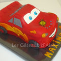 Gâteau cars flash mcqueen #5