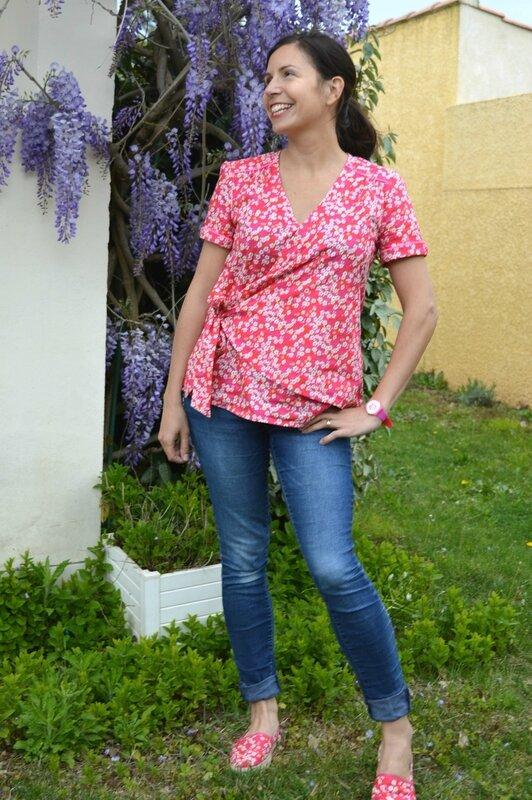 Dame de coeur_Mitsi Fuchsia portée (1)