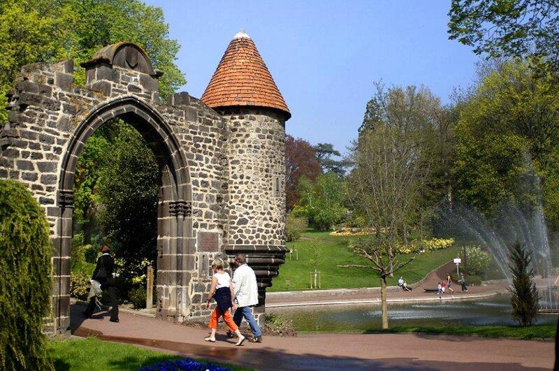 Jardin Lecoq Clermont Ferrand Le Blog De Val Riane