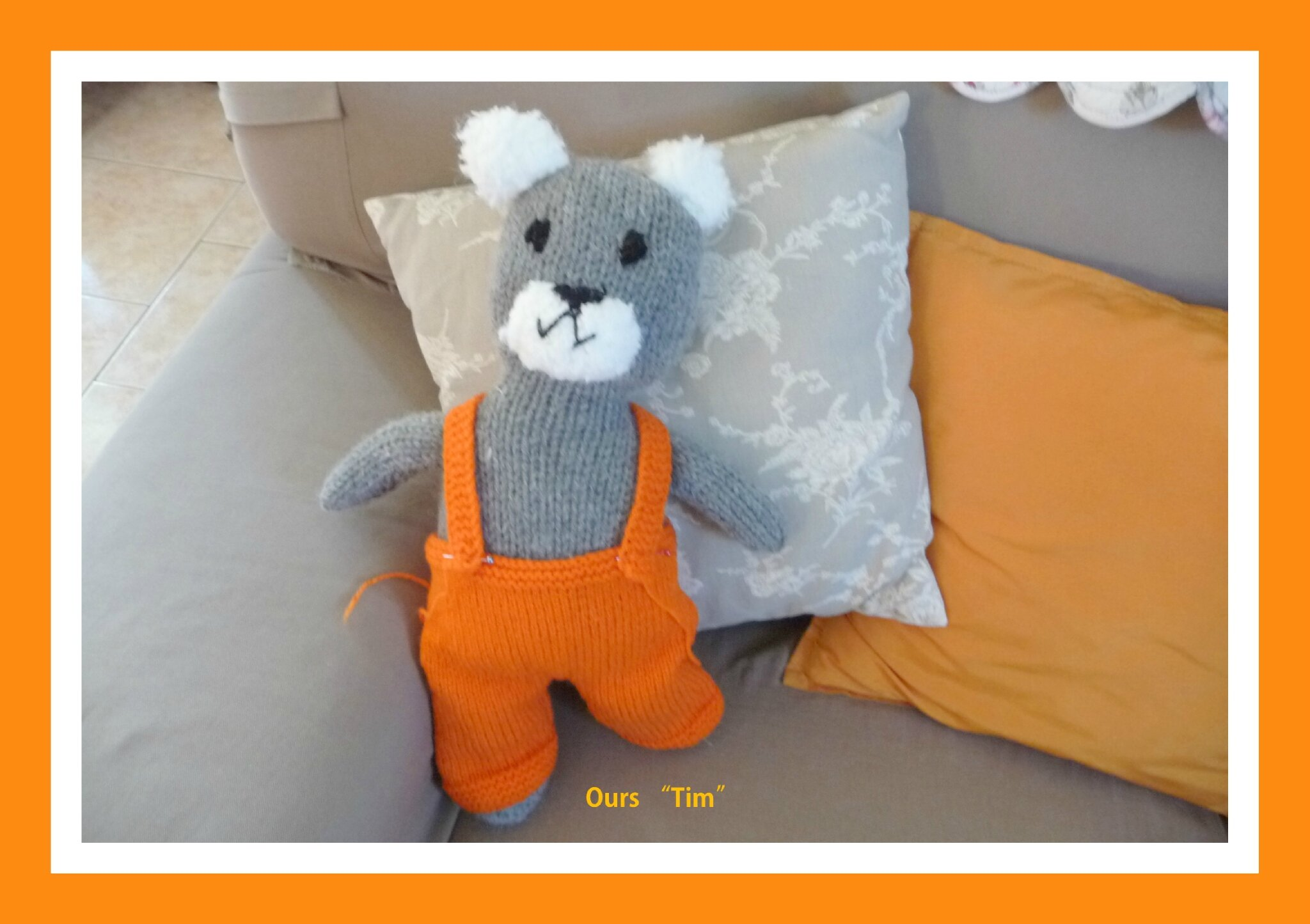 Doudou : OURS