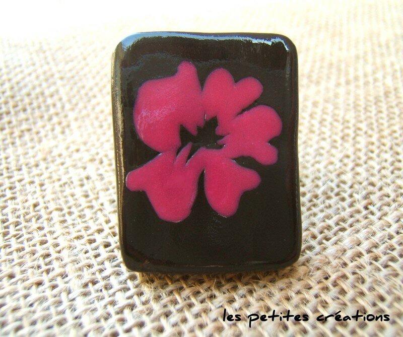 bague hibiscus