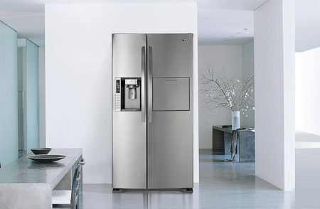 lg lance le plus grand frigo am ricain pla net d co