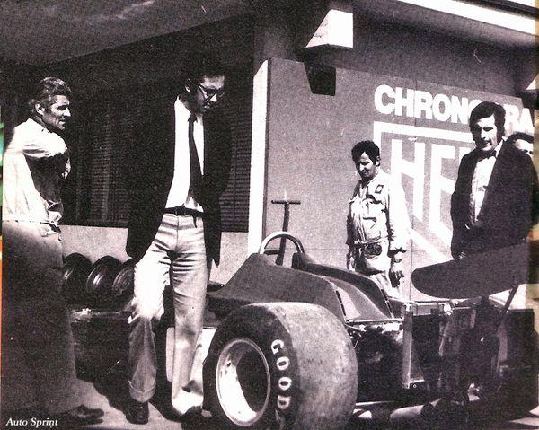 1973-Fiorano-312 B3-Borsari_Forghieri_Marmiroli