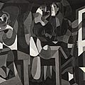 Picasso black and white opens at the guggenheim