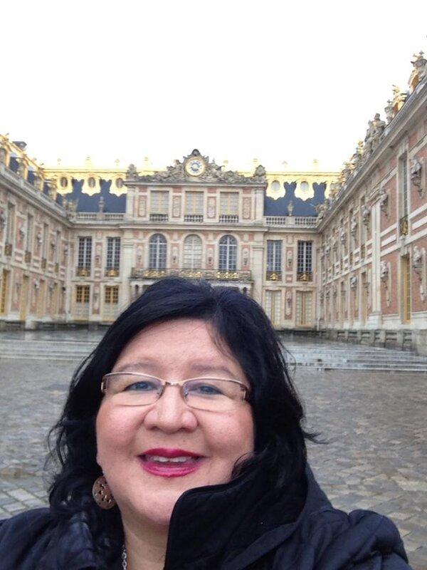 Danette à Versailles