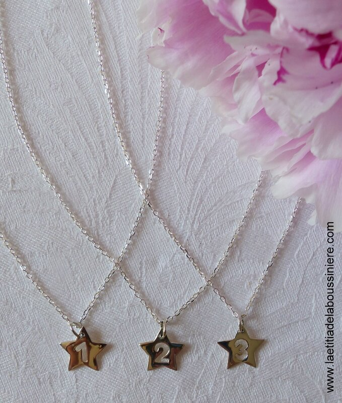 Collier Love Mum (étoile) - 27 €