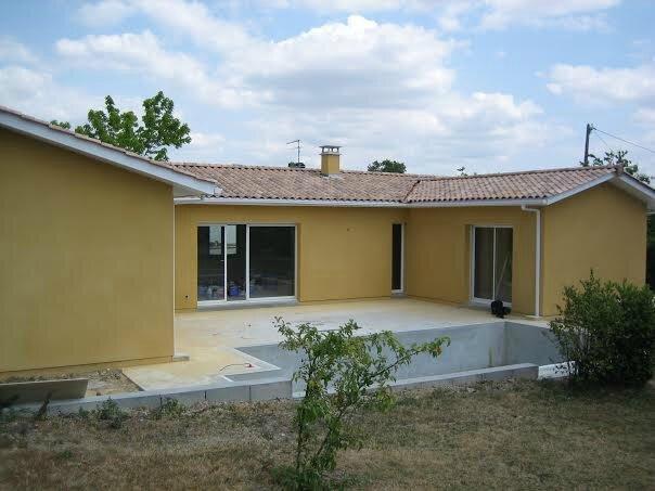 Construction d 39 une maison individuelle pessac alain for Agrandissement maison individuelle