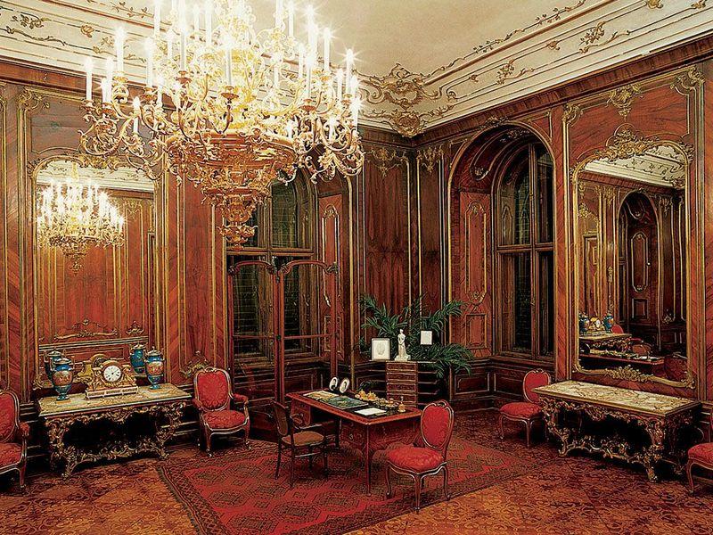 Sch nbrunn bienvenue chez les habsbourg d couvrir for Interieur 18eme siecle
