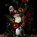Photographic floral still lifes by bas meeuws