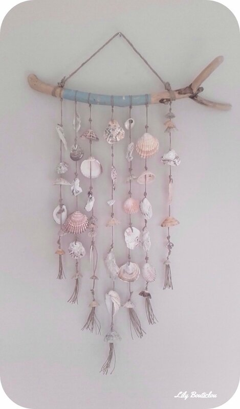 DIY bijoux coquillages seashell jewels lilybouticlou