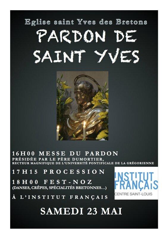 Affiche Pardon saint Yves