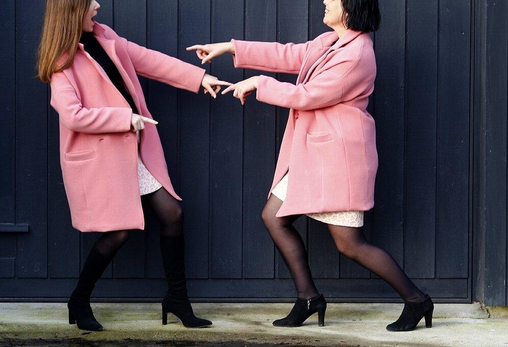 Pink ladies! (Aime comme mazarine + mini)