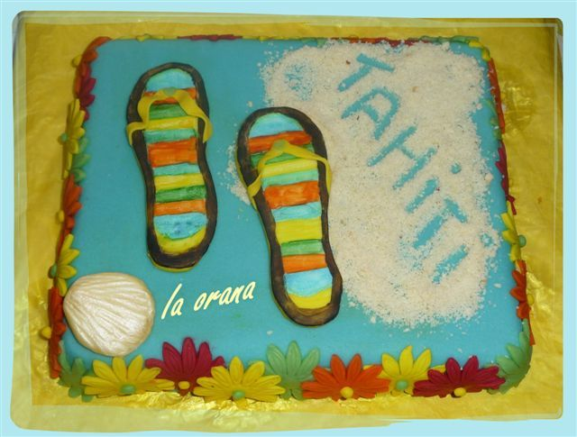 Gâteau Tahiti/Tahiti cake