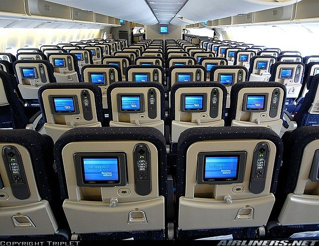D part nou kontan lagwiyan 39 n for Interieur avion air canada