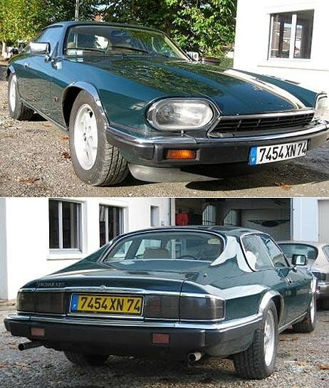 JAGUAR - XJS 4,0 L Coupé 6 cyl. version Facelift - 1992