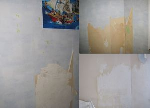 murs chambre 1