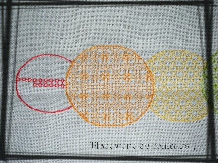 Blackwork en couleurs 7