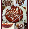 Gâteau choco-gingembre.....partenariat newtree