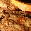 Cookies au potiron caramélisé et pépites de chocolat