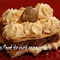 Millefeuille chocolat/marron