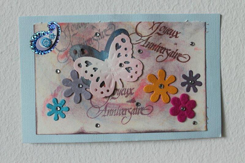 carte d'Armelle pour mon anni 2014