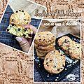 Cookies flocons d'avoine noix de coco & chocolat de mademoiselle banane