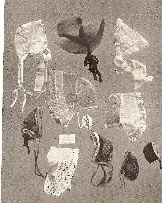 Bonnets, Coiffes et Capelines du Haut-Dauphiné - Musée de Gap (Cliché Mounier)