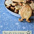 ..biscuits à la crème et au thé noir kashmir tchai..