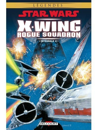 delcourt star wars x-wing rogue squadron intégrale 02