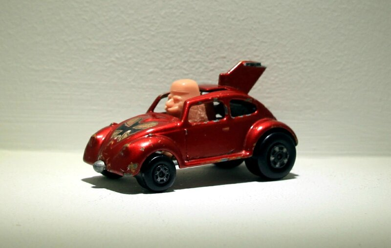Vw Bug (Flying bug)(ref 11) Matchbox