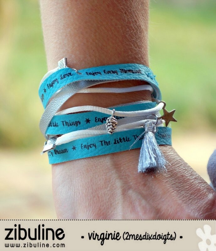04 Tuto DIY Bracelet Positive words Virginie Zibuline (1)