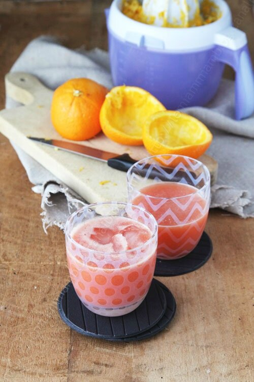 boisson energissante boost orange fraise 0002 LE MIAM MIAM BLOG