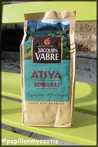 Café Jacques Vabre Atiya Honduras