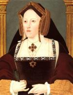 Catherine d'Aragon, première épouse de Henry VIII, mère de Marie Tudor