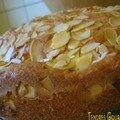 Gâteau aux pommes caramélisées/cannelle