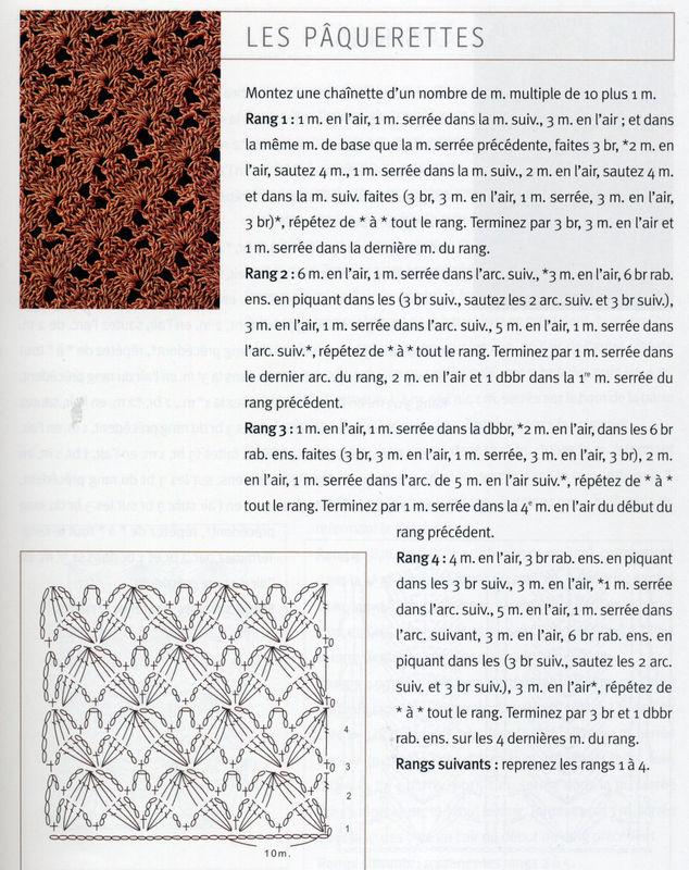 Point fleur crochet et compagnie by lucile for Qui portent des crochets
