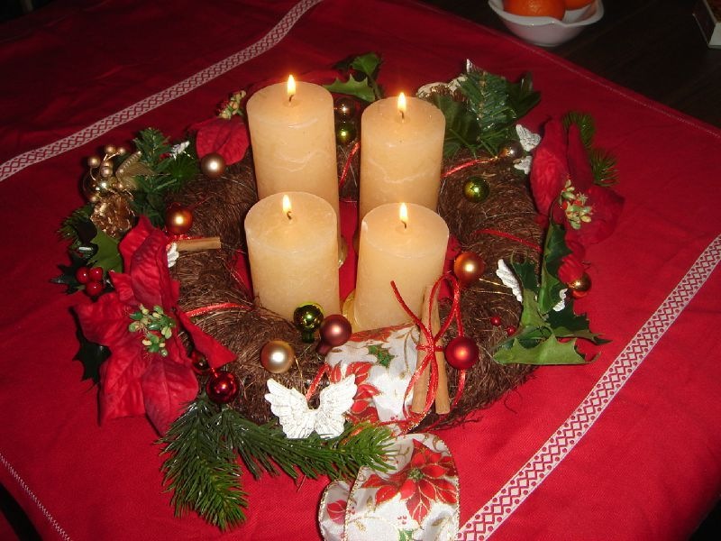 Decoration de noel table a faire soi meme - Deco table de noel a faire ...