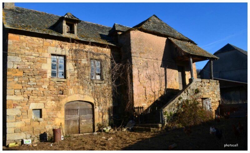La Vieille Ferme Dans Un Village De L 39 Aveyron Chambre