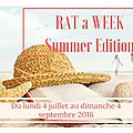Rat a week estival