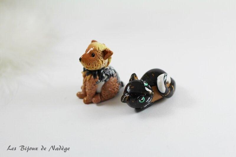 figurine chien et chat 2