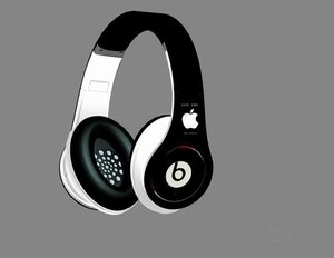 Beats Dre Studio Steve Jobs Headphone Noir